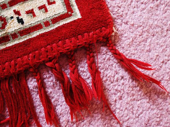 שטיח פרסי אדום